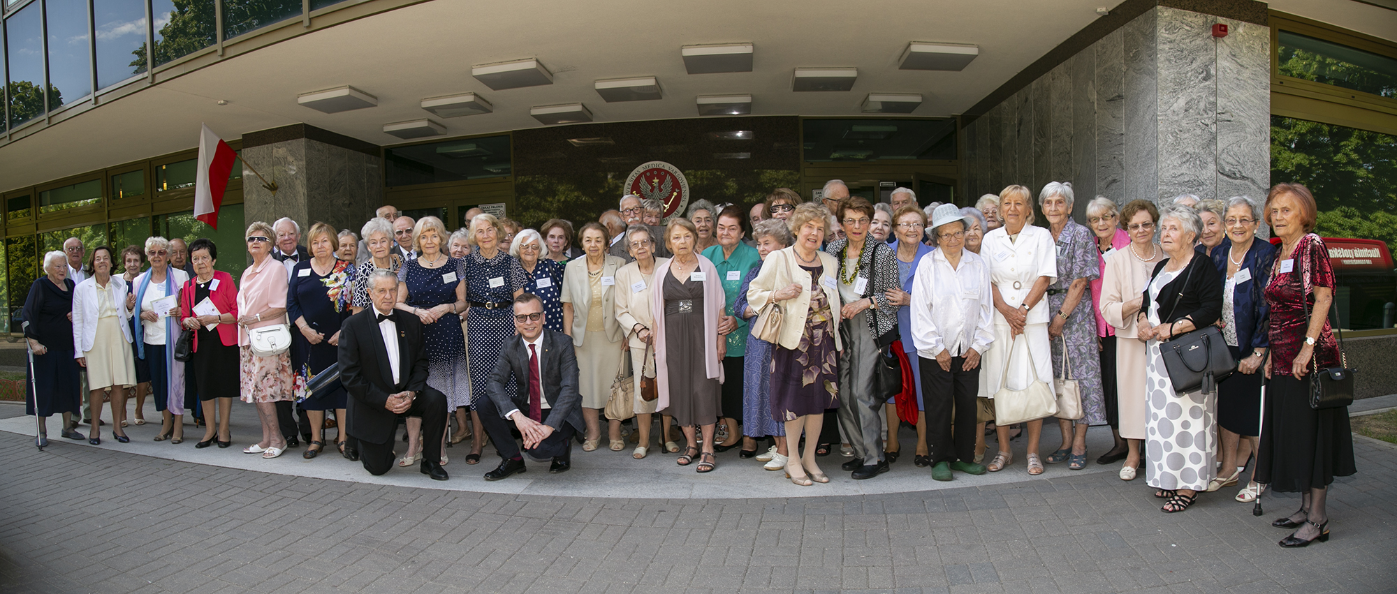 Grupa absolwentów 1952-1958